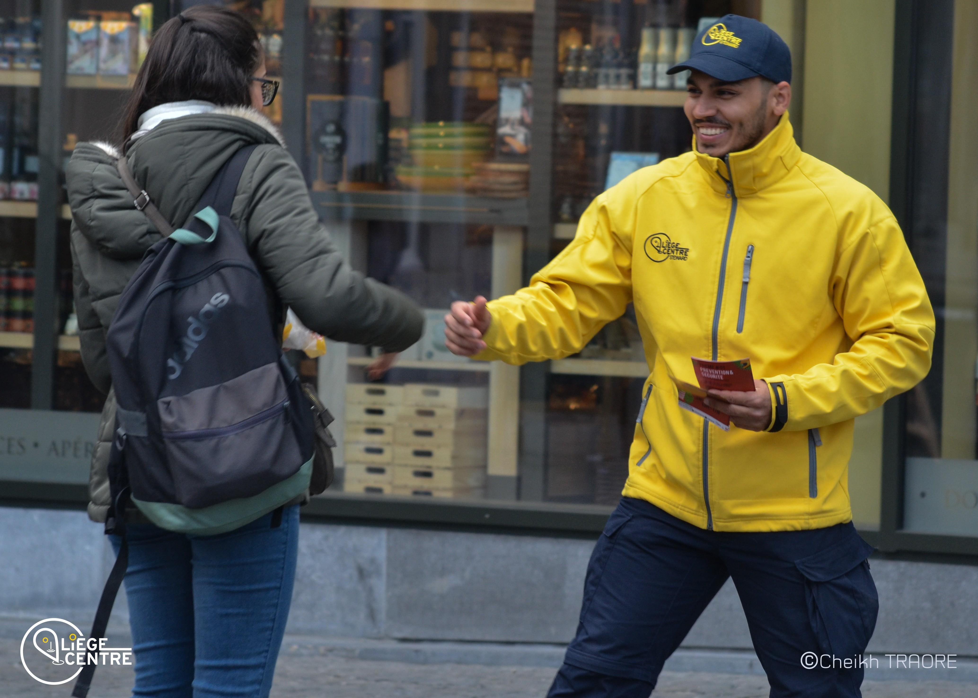 Valeurs ouverture : Steward à la rencontre des gens