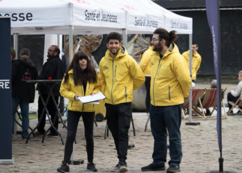 Steward urbain - inauguration du place making 2019