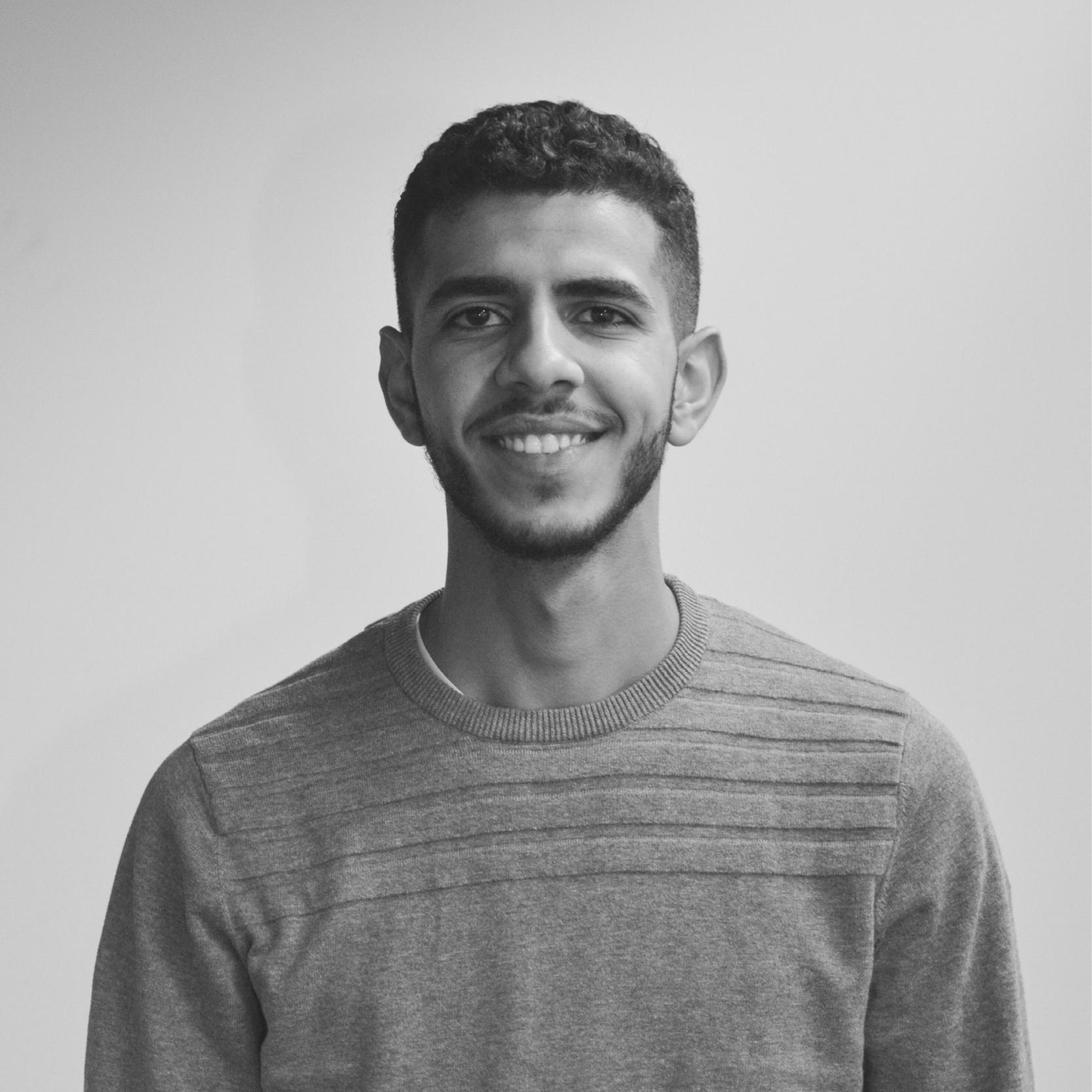 équipe administrative :Portrait de Sabri aben, coordinateur de l'asbl Liège Centre