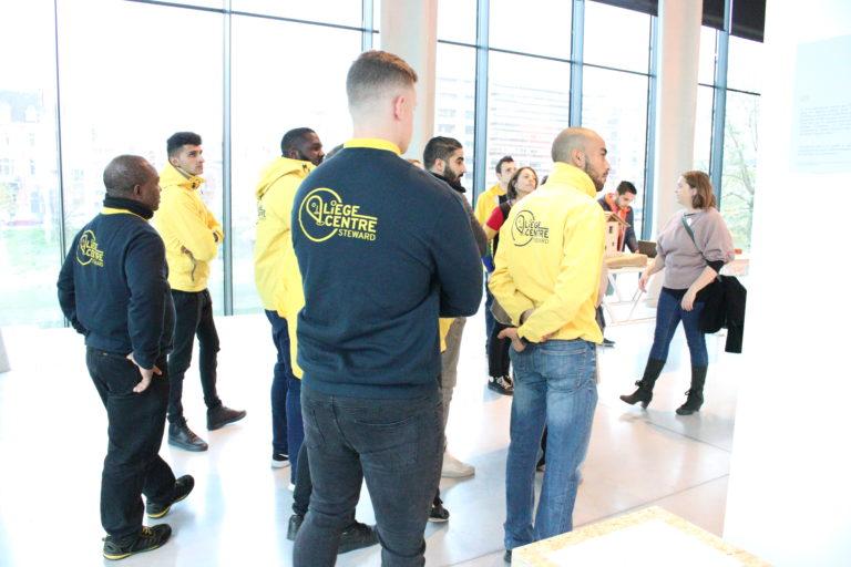 objectifs:steward de Liège promotionant la culture
